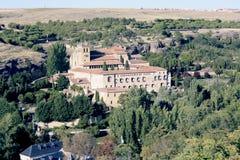 Monastério de St Mary de Parral fora das paredes de Segovia fotografia de stock royalty free