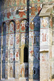 Monastério de Sucevita Fotografia de Stock Royalty Free