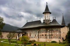 Monastério de Sucevita, Bucovina Romania Imagem de Stock