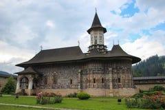 Monastério de Sucevita, Romania Fotografia de Stock Royalty Free