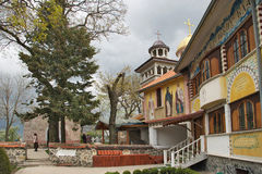 Monastério de Sveta Petka Fotos de Stock Royalty Free