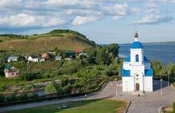 Monastério de Svyato-Bogorodicky, Rússia Imagens de Stock Royalty Free
