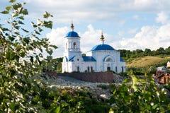 Monastério de Svyato-Bogorodicky (Vinnovka) Fotos de Stock Royalty Free