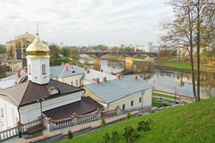 Monastério de Svyato-Duhov em Vitebsk Belarus Imagem de Stock