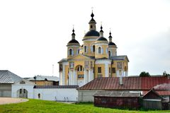 Monastério de Svyato-uspenskii Vishenskii Fotografia de Stock