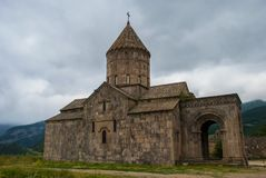 Monastério de Tatev na província de Syunik do Republic of Armenia fotografia de stock