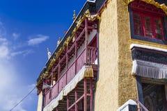 Monastério de Thiksey, Leh Ladakh India imagem de stock