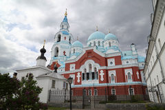 Monastério de Valaam imagens de stock