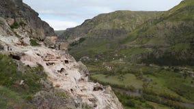 Monastério de Vardzia, cidade da caverna, Geórgia filme