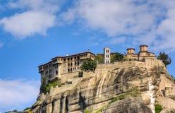 Monastério de Varlaam, Meteora, Greece Imagens de Stock