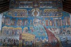 Monastério de Voronet Fotografia de Stock