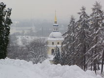 Monastério de Vudubickiy, Kiev, Ucrânia Fotografia de Stock