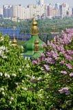 Monastério de Vydubetsky em Kiev, Ucrânia Imagem de Stock Royalty Free