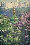 Monastério de Vydubetsky em Kiev, Ucrânia Imagens de Stock