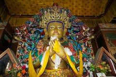 Monastério de Yiga Choeling, Darjeeling, Índia Foto de Stock Royalty Free