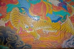 Monastério de Yiga Choeling, Darjeeling, Índia Fotografia de Stock