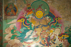 Monastério de Yiga Choeling, Darjeeling, Índia Imagem de Stock Royalty Free
