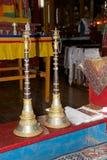 Monastério de Yiga Choeling, Darjeeling, Índia Fotos de Stock