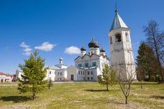 Monastério de Zelenetsky Troitsky Regi?o de Leninegrado, R?ssia fotografia de stock
