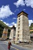 Monastério de Zengke Fotografia de Stock Royalty Free
