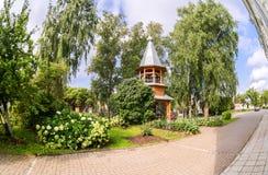 Monastério de Zverin Pokrovsky em Veliky Novgorod, Rússia imagem de stock