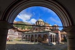 Monastério do arco de Rila Foto de Stock Royalty Free