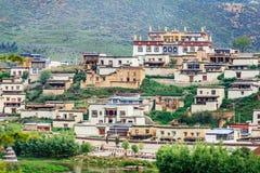Monastério do budismo tibetano Fotografia de Stock