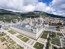 Monastério do EL Escorial, Espanha fotografia de stock