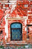 Monastério do esmagamento em Uglich Indicador velho da igreja fotografia de stock
