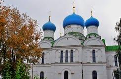 Monastério do esmagamento em Uglich, Rússia foto de stock royalty free