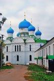 Monastério do esmagamento em Uglich, Rússia fotos de stock
