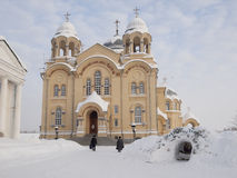 Monastério do homem de Piously-Nikolaev. Imagem de Stock