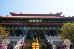 Monastério do Po Lin Imagem de Stock