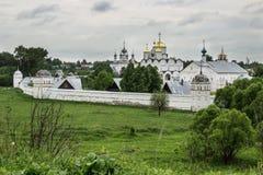 Monastério do ` s das mulheres de Pokrovsky em Suzdal Rússia fotos de stock