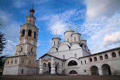 Monastério do salvador-Prilutsky, a cidade de Vologda Rússia postcards imagem de stock