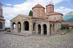 Monastério do St. Naum perto de Ohrid, Macedônia Fotografia de Stock