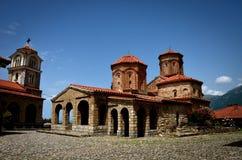 Monastério do St Naum perto de Ohrid, Macedônia Fotografia de Stock