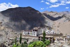 Monastério do yuru da Lama perto de Leh Foto de Stock