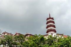 Monastério dos 10000 buddhas em Hong Kong, China Foto de Stock