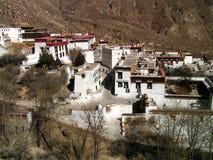 Monastério dos Himalayas - Tibet - de Drepung imagem de stock
