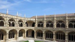 Monastério dos jeronimos, Lisboa Foto de Stock