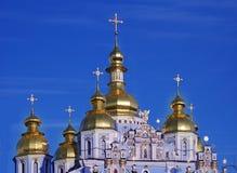 Monastério Dourado-Abobadado do St. Michael imagens de stock