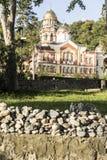 Monastério em Athos novo Imagens de Stock Royalty Free