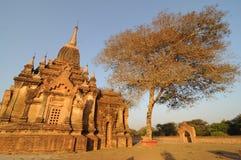 Monastério em Bagan, Myanmar Foto de Stock
