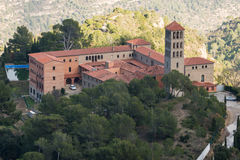 Monastério em Catalonia imagem de stock royalty free