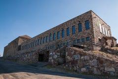 Monastério em cima para o oeste imagens de stock
