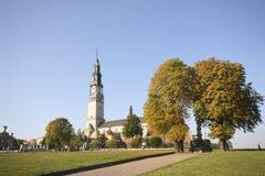 Monastério em Czestochowa imagens de stock