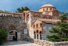 Monastério em Greece Foto de Stock Royalty Free