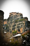 Monastério em Meteora Grécia Imagem de Stock Royalty Free