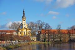 Monastério em Neuzelle, Alemanha Foto de Stock Royalty Free